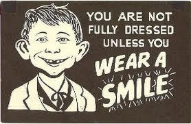 false smile alfred e newman