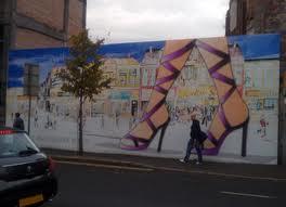 Lisburn Road hoarding mural
