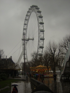 London Eye and Carousel 18 March 2013