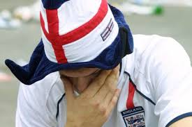 disappointed Englnd football fan